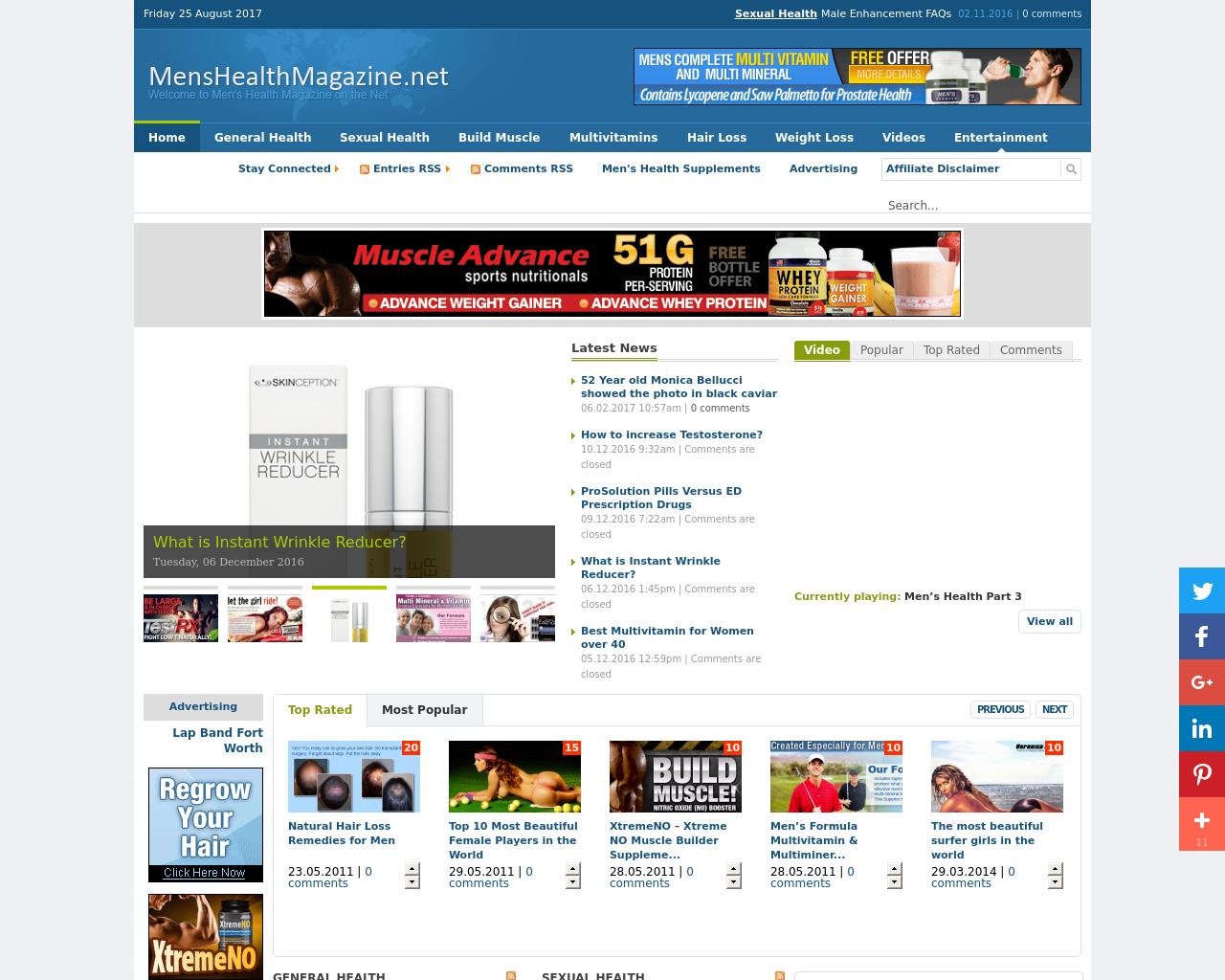 MensHealthMagazine.net-Advertising-Reviews-Pricing
