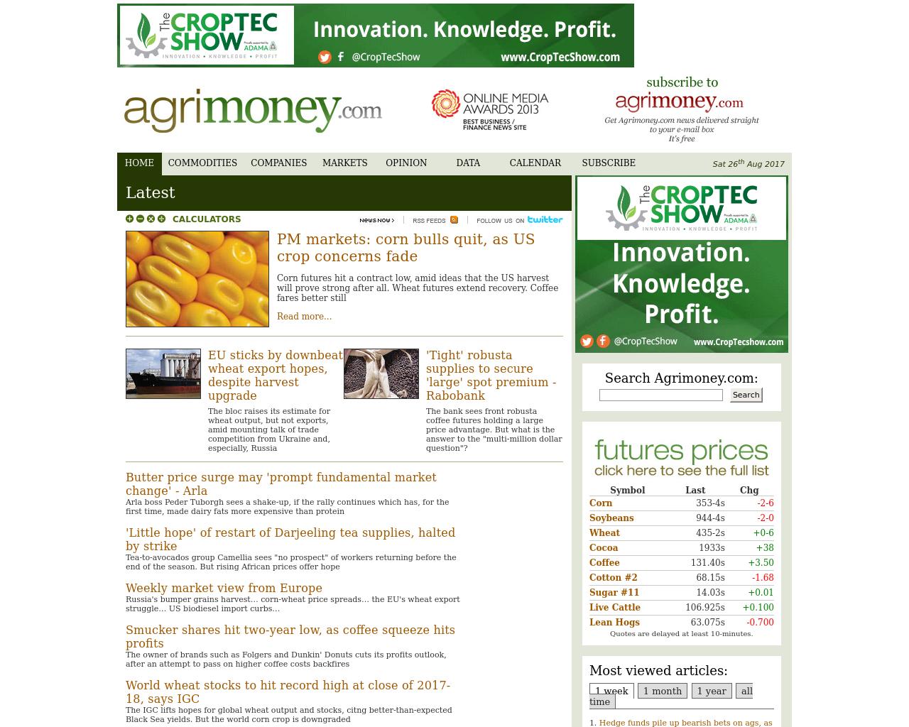 agrimoney.com-Advertising-Reviews-Pricing