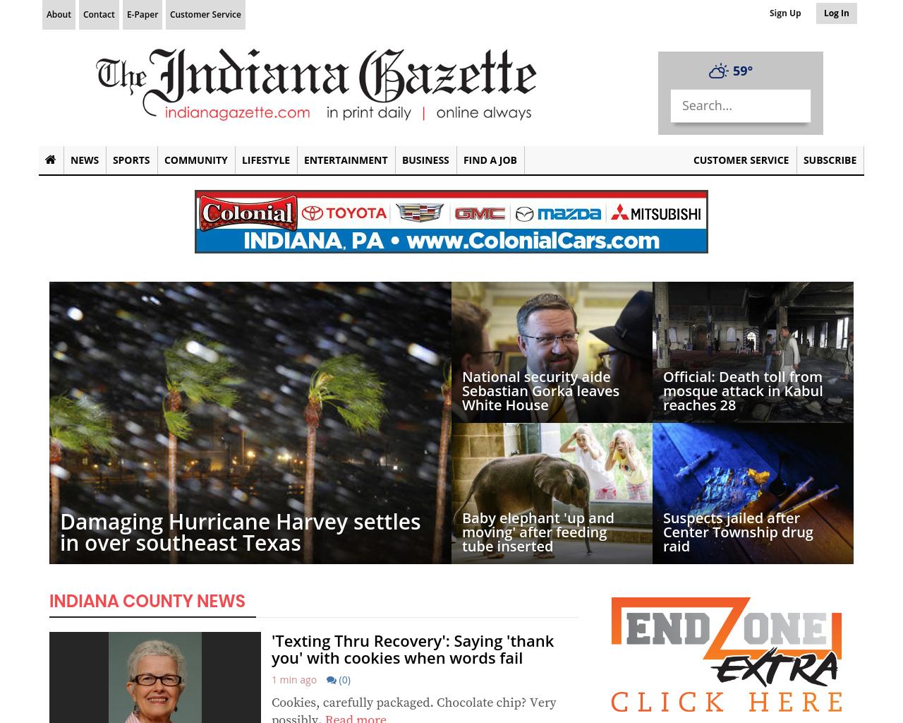 IndianaGazette.com-Advertising-Reviews-Pricing