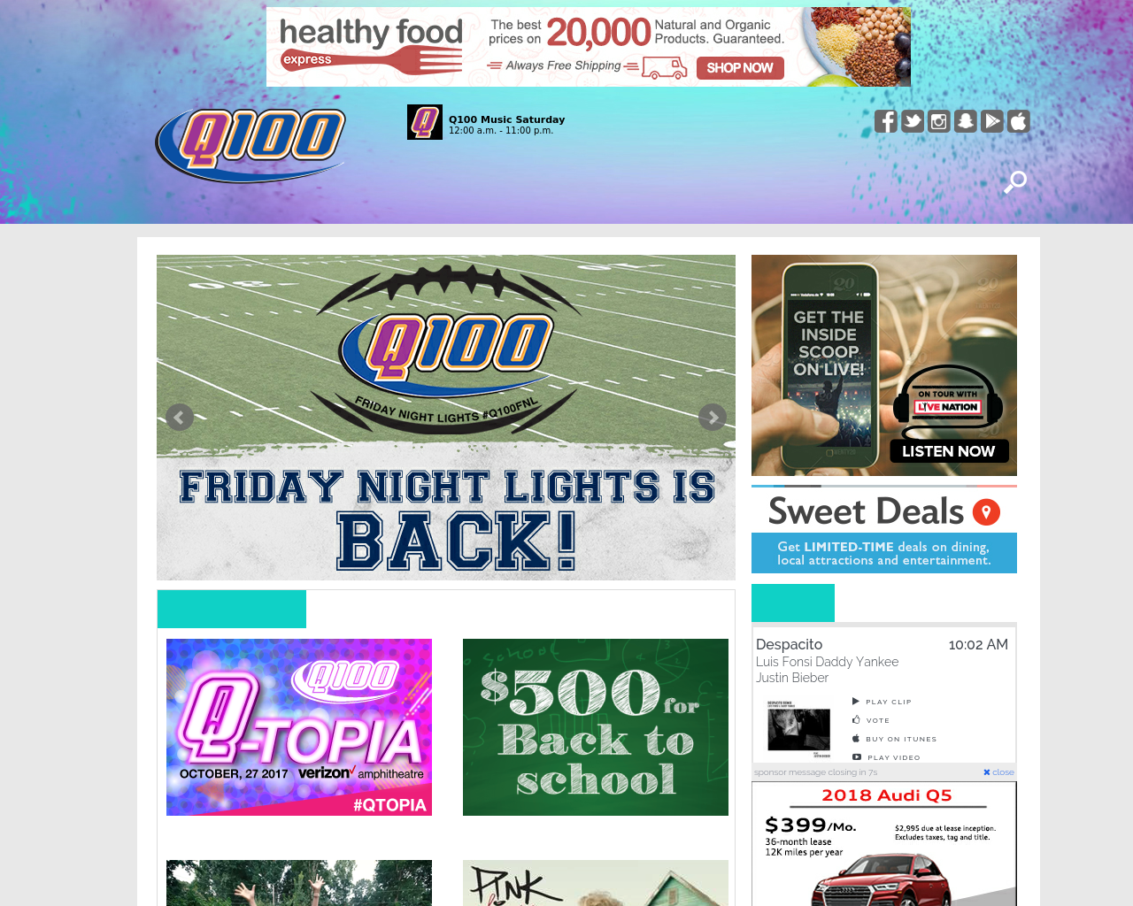 All-The-Hits-Q100-Advertising-Reviews-Pricing