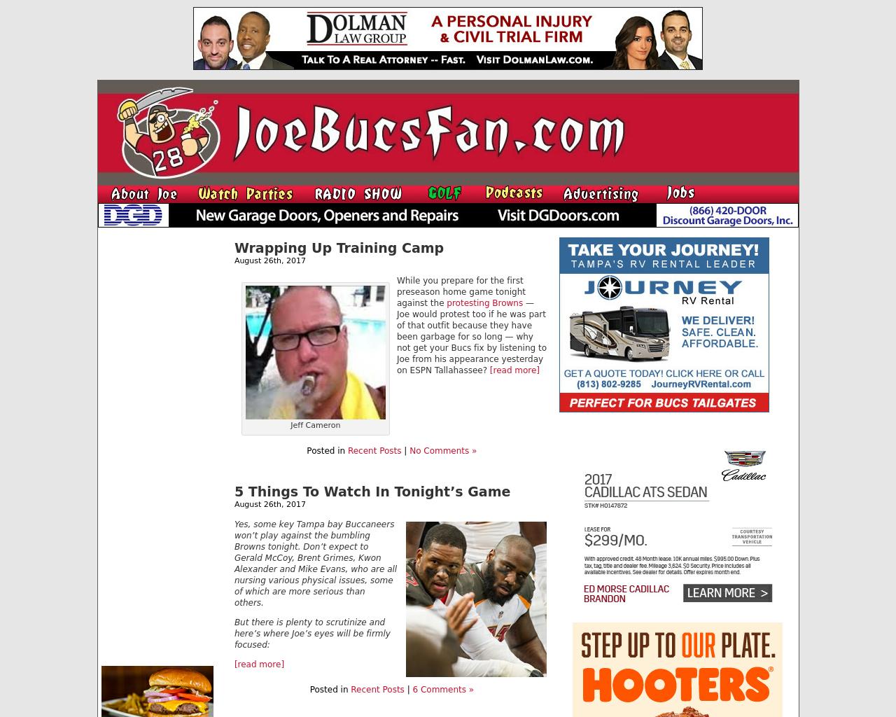 JoeBucsFan-Advertising-Reviews-Pricing