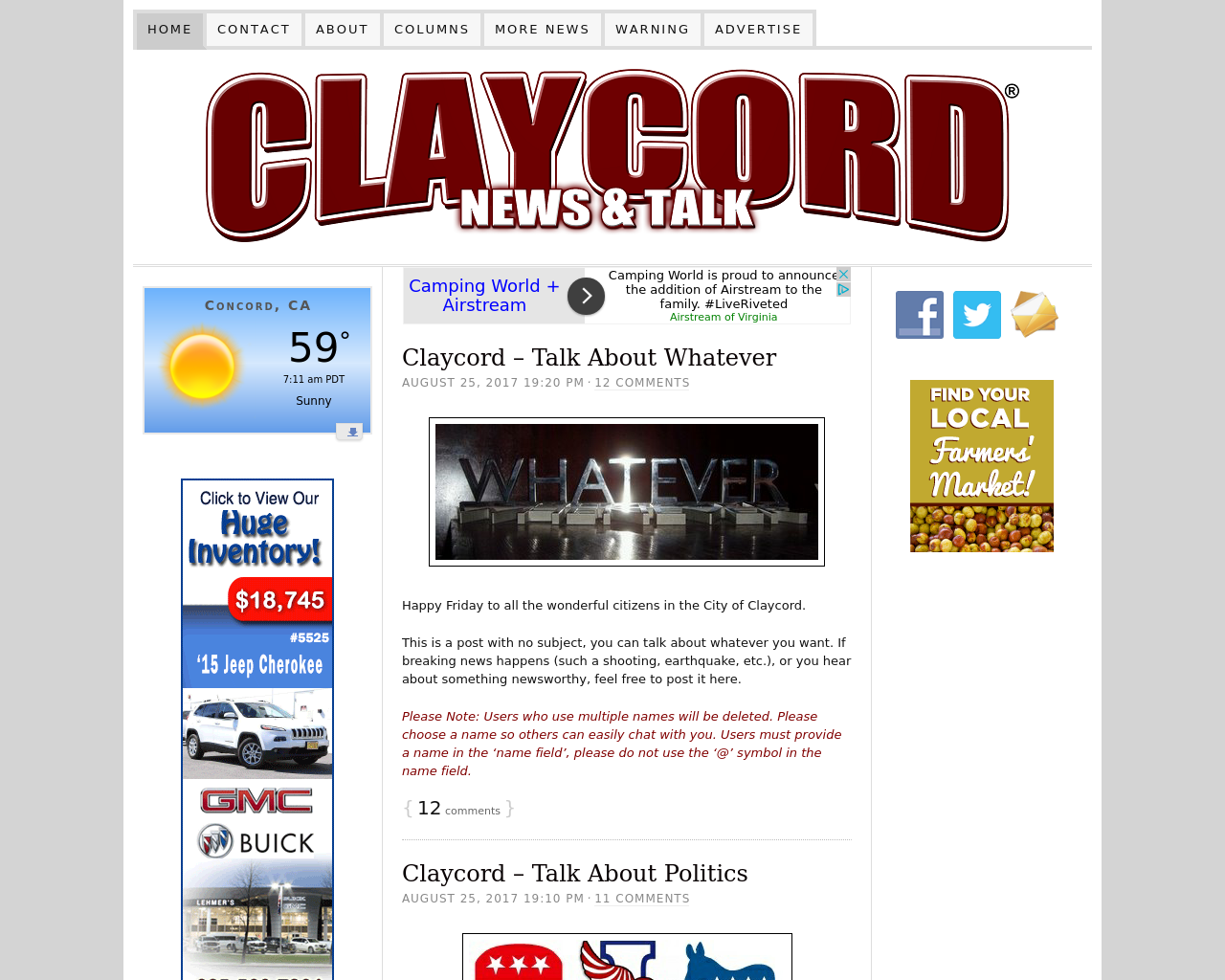 CLAYCORD-News-And-Talk-Advertising-Reviews-Pricing