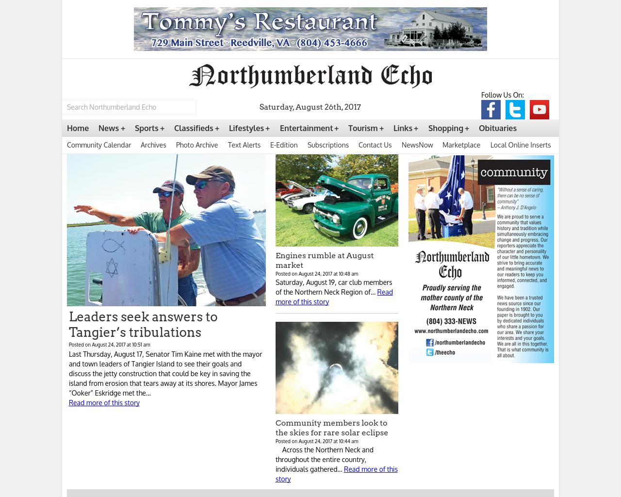 Northumberland-Echo-Advertising-Reviews-Pricing