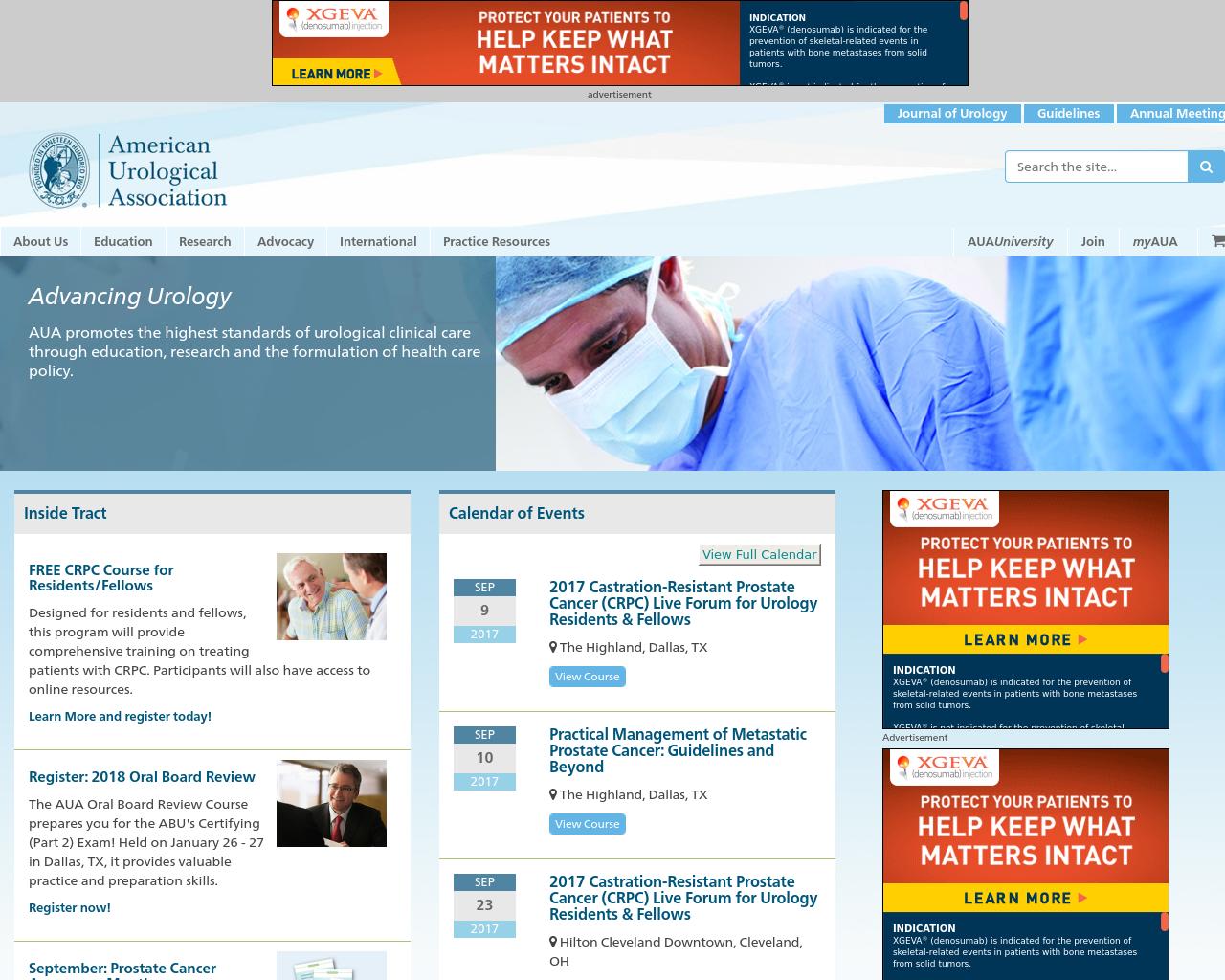 American-Urological-Association-Advertising-Reviews-Pricing