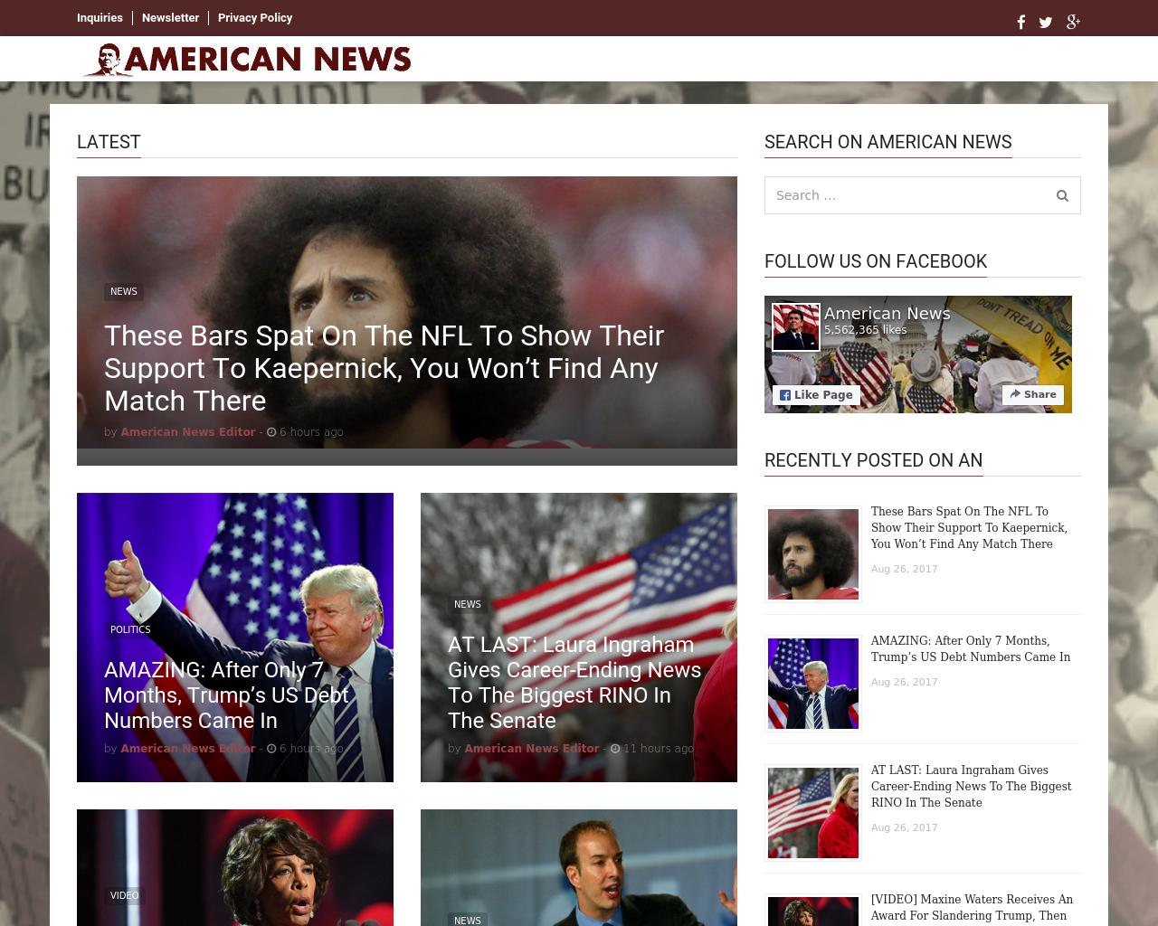 American-News-Advertising-Reviews-Pricing