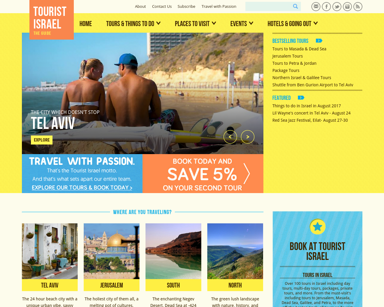 Tourist-Israel-Advertising-Reviews-Pricing