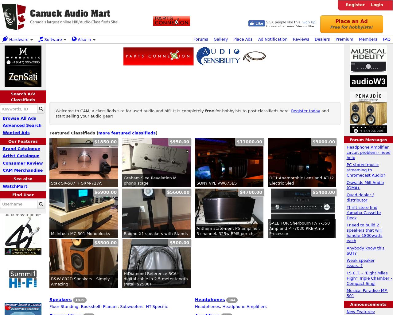 Canuckaudiomart.com-Advertising-Reviews-Pricing