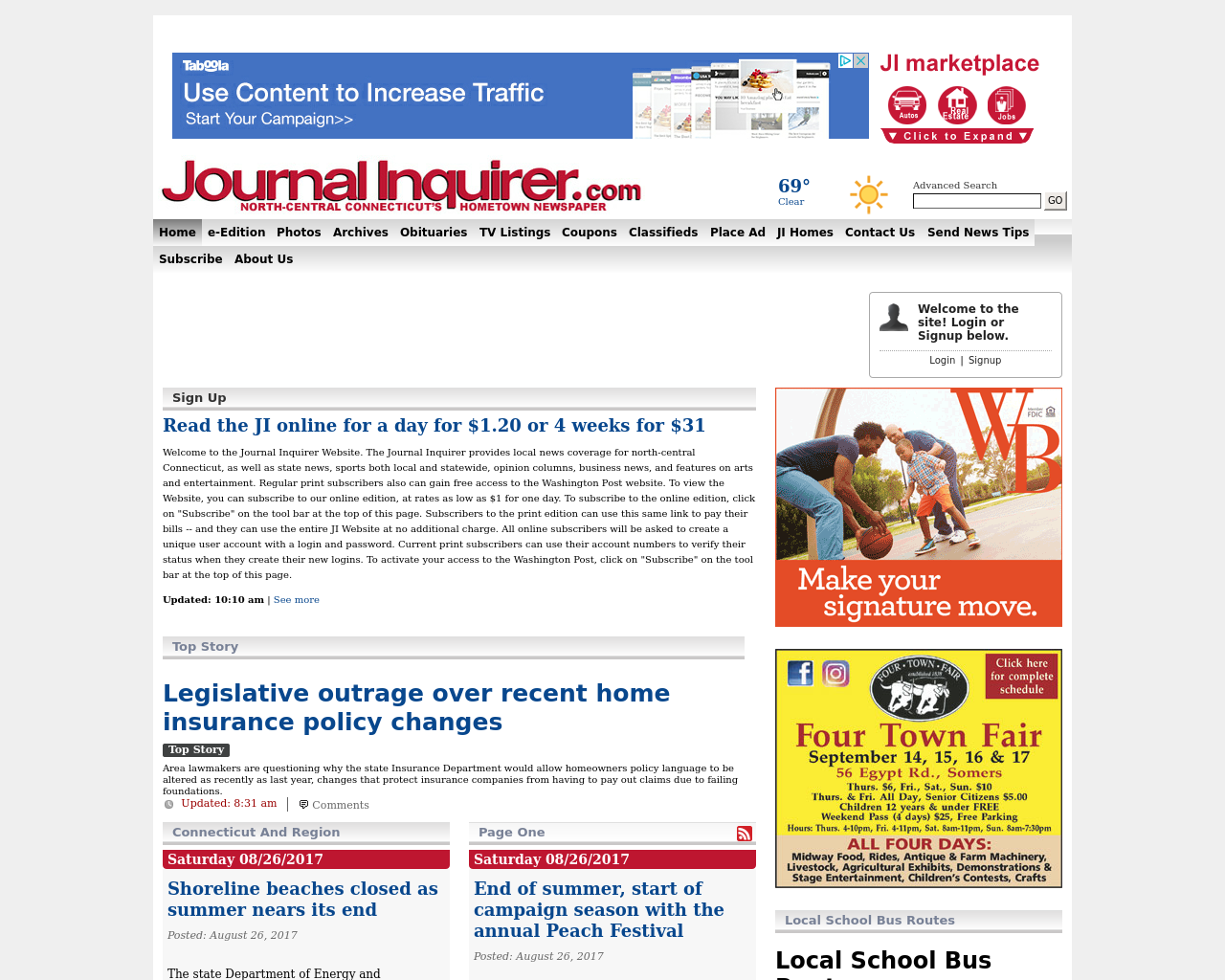 Journal-Inquirer-Advertising-Reviews-Pricing