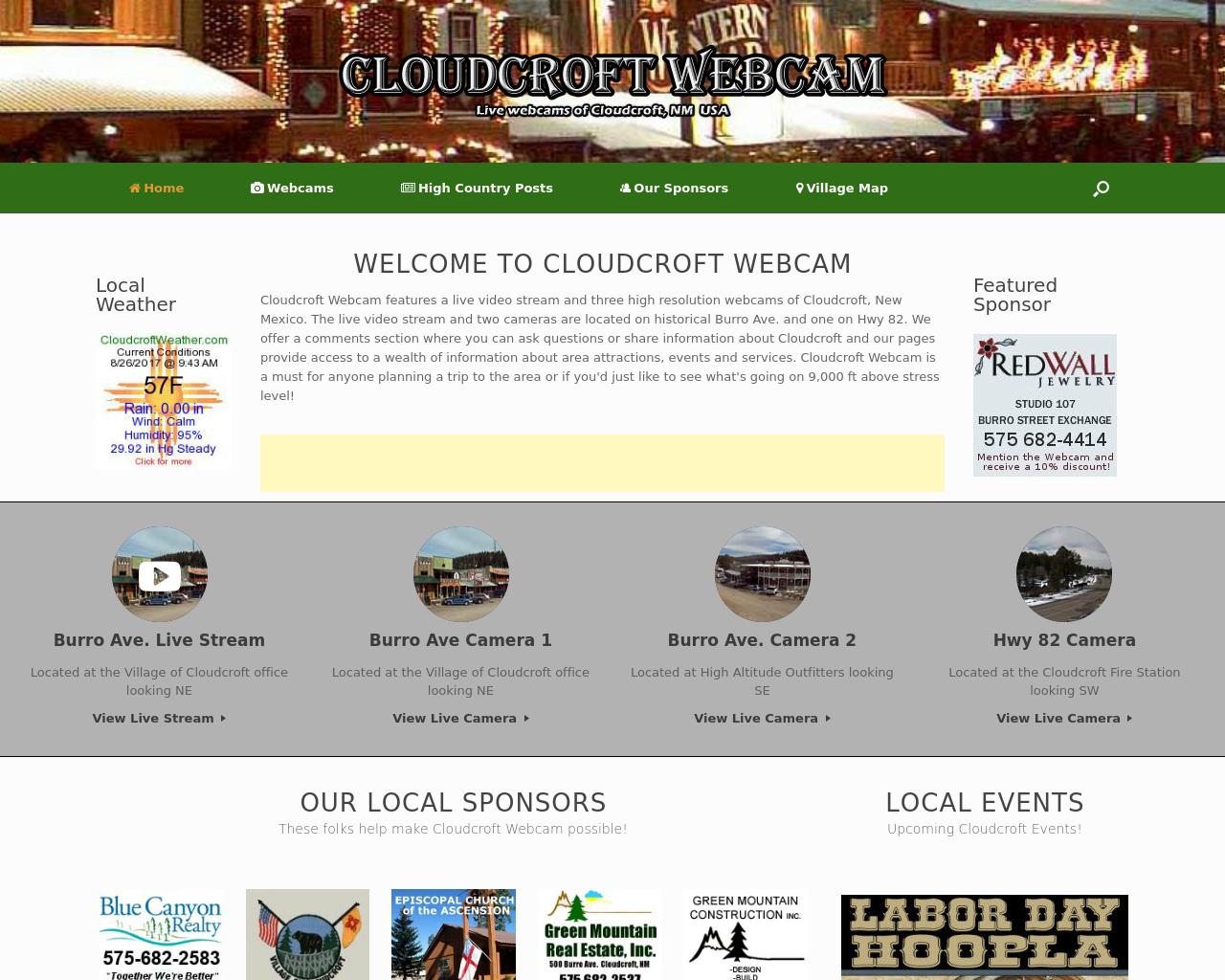 Cloudcroft-Webcam-Advertising-Reviews-Pricing