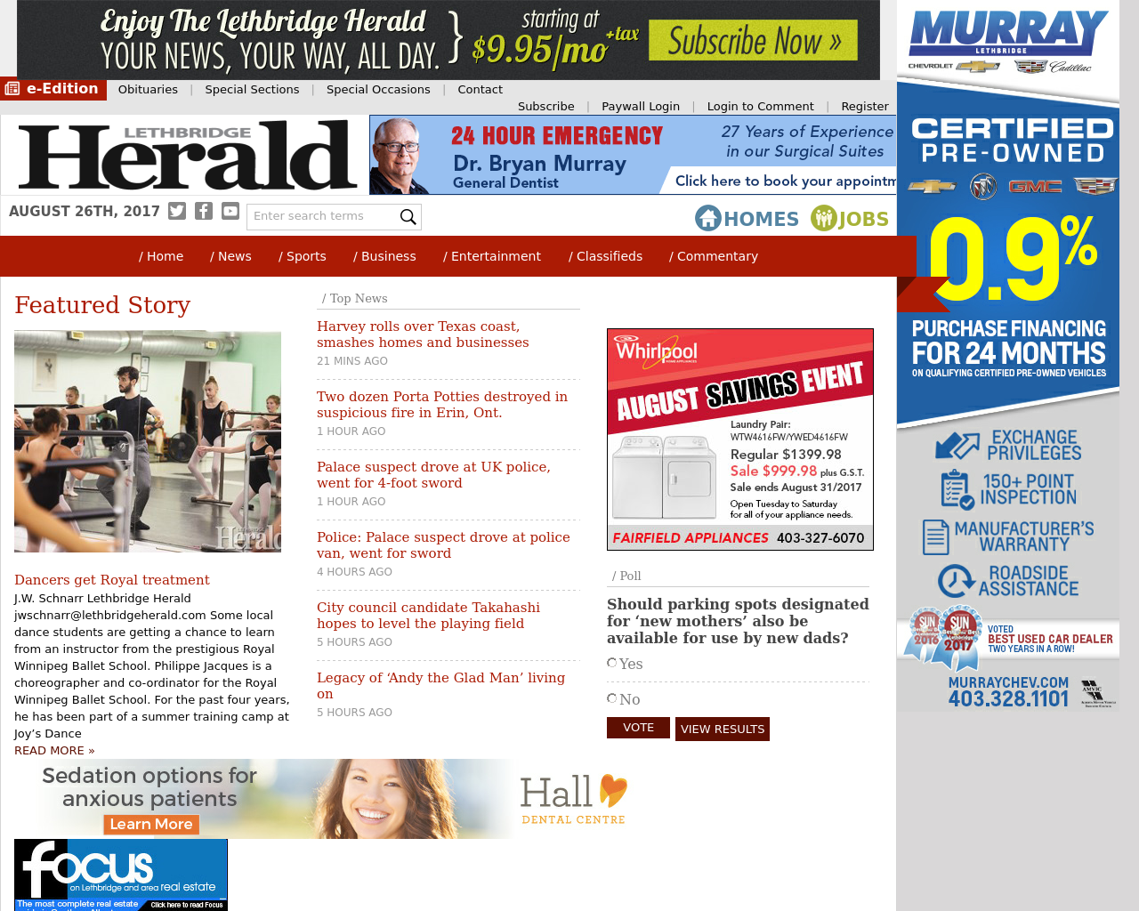 Lethbridge-Herald-Advertising-Reviews-Pricing