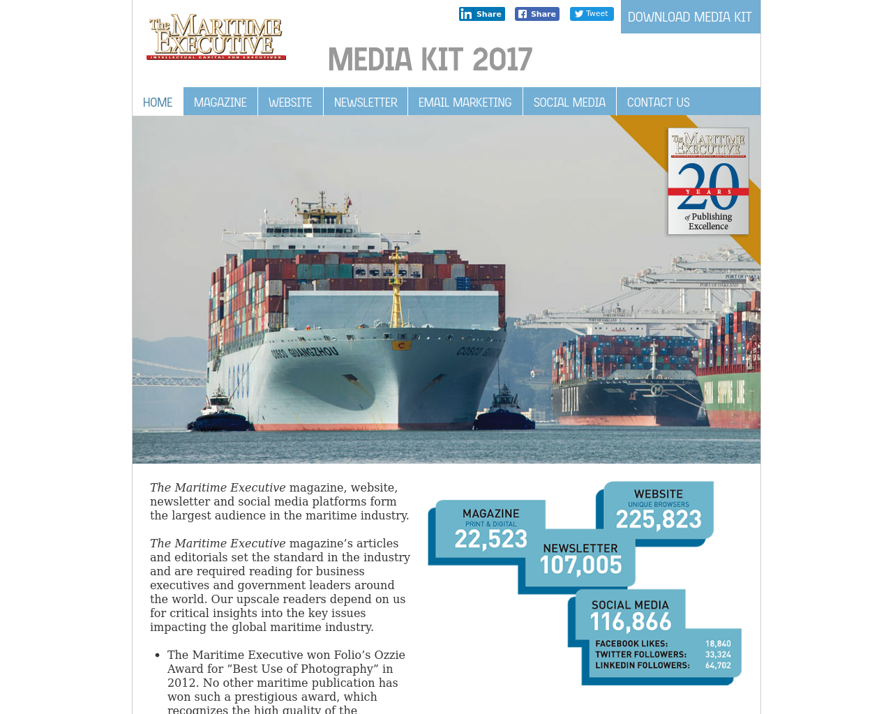 The-Maritime-Executive-Advertising-Reviews-Pricing