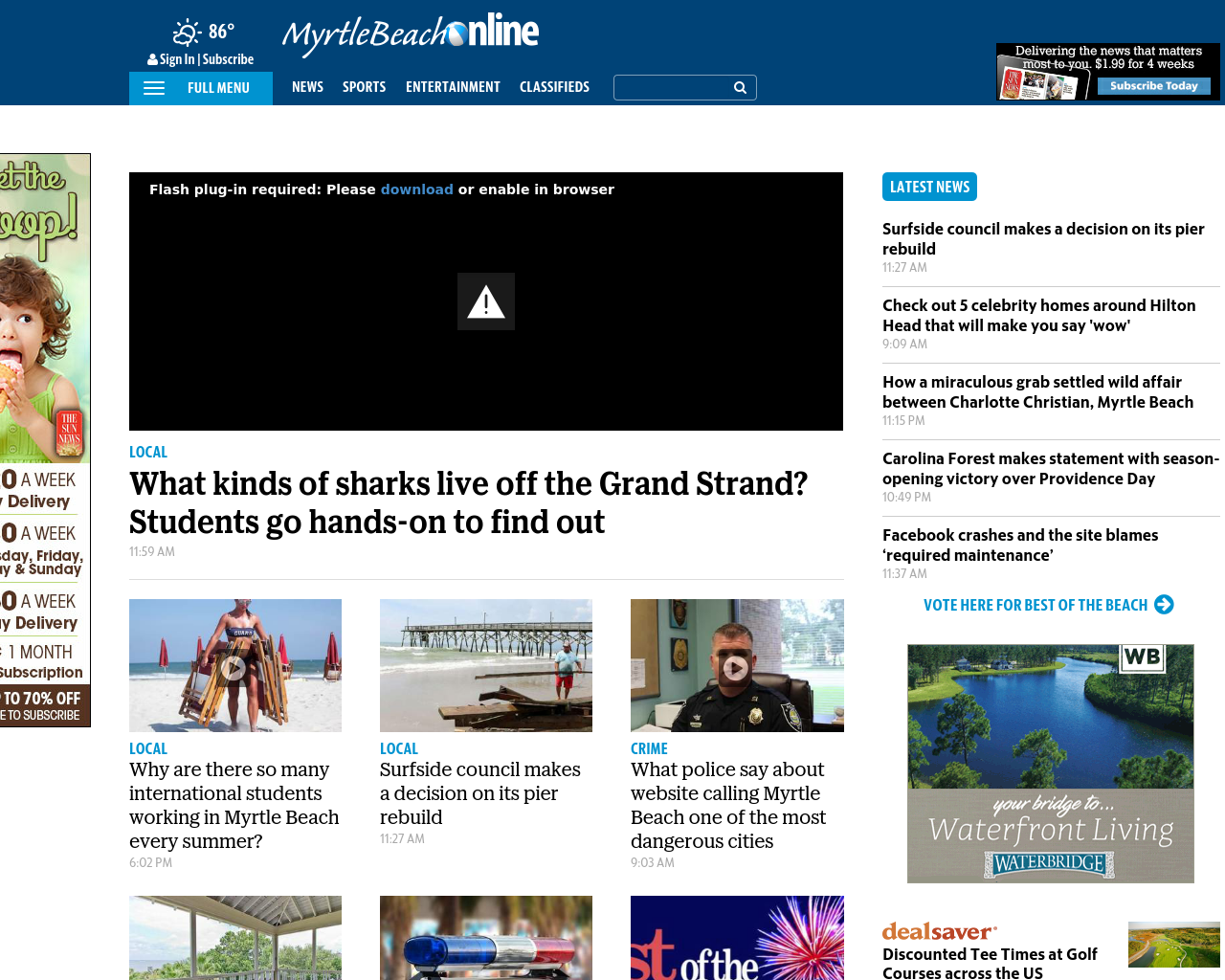 The-Sun-News-/-Myrtle-Beach-Online-Advertising-Reviews-Pricing