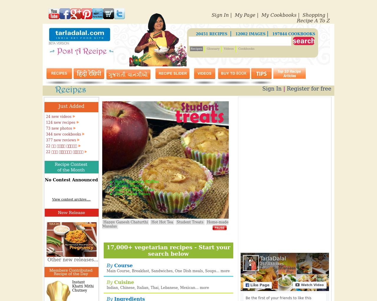 Tarladalal.com-Advertising-Reviews-Pricing