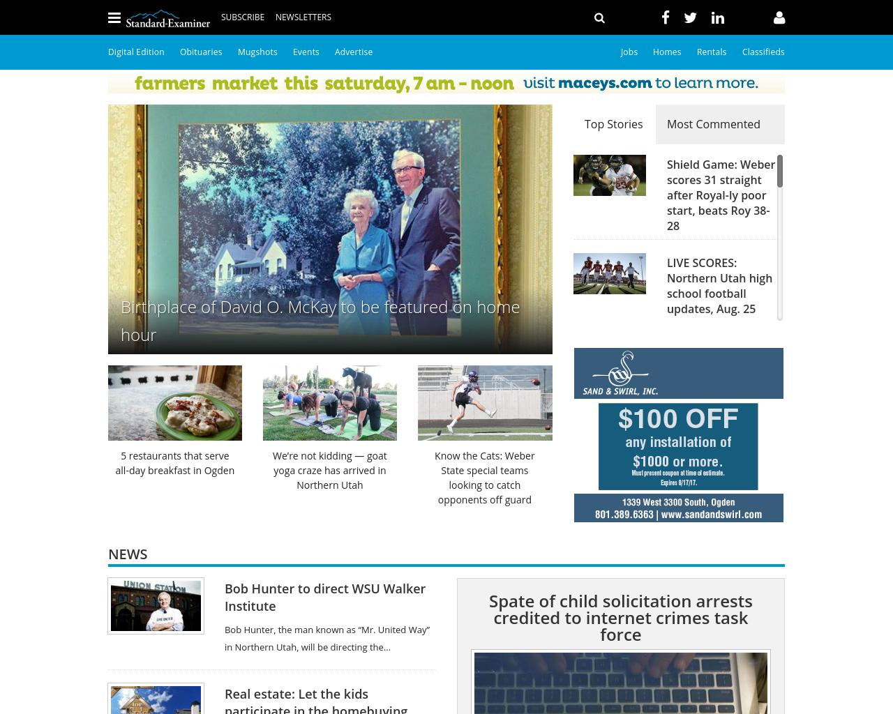 Standard-Examiner-Advertising-Reviews-Pricing