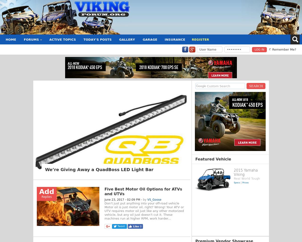 Yamaha-Viking-Forum-Advertising-Reviews-Pricing
