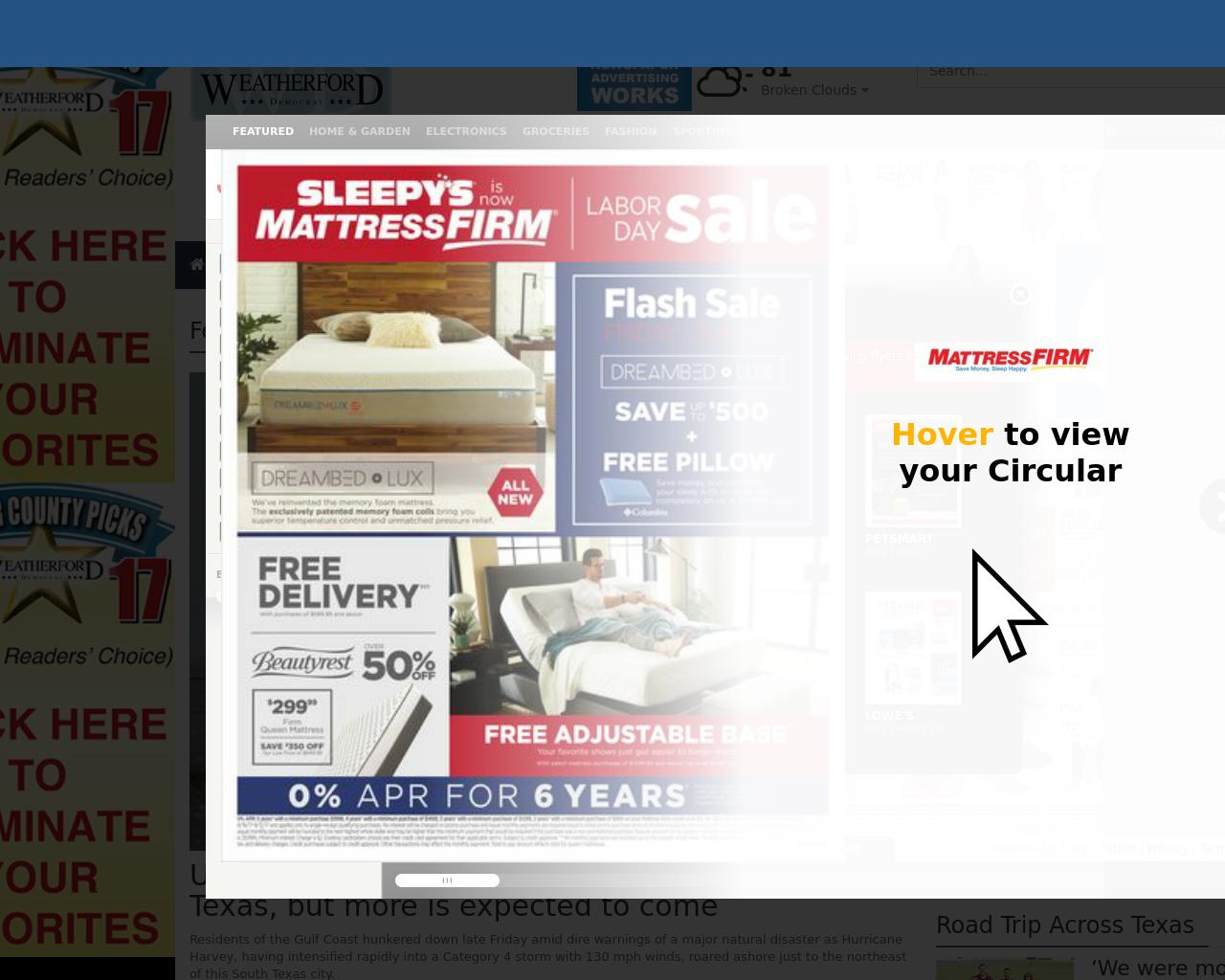 Weatherford-Democrat-Advertising-Reviews-Pricing