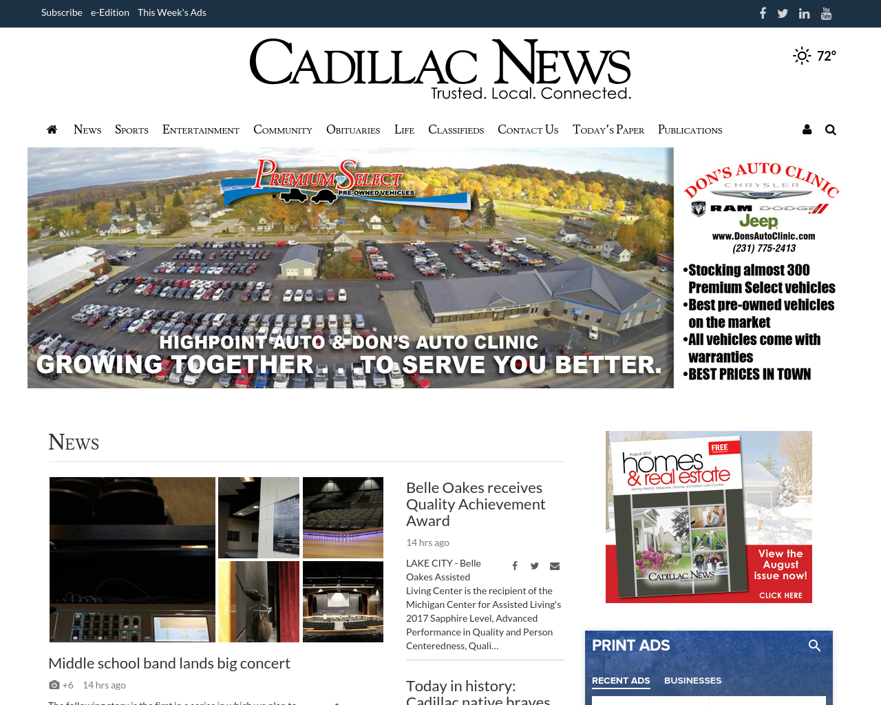 CadillacNews.com-Advertising-Reviews-Pricing