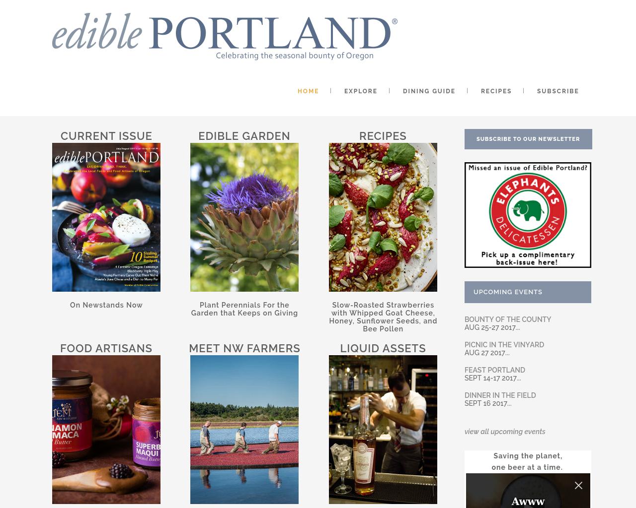 Edible-Portland-Advertising-Reviews-Pricing