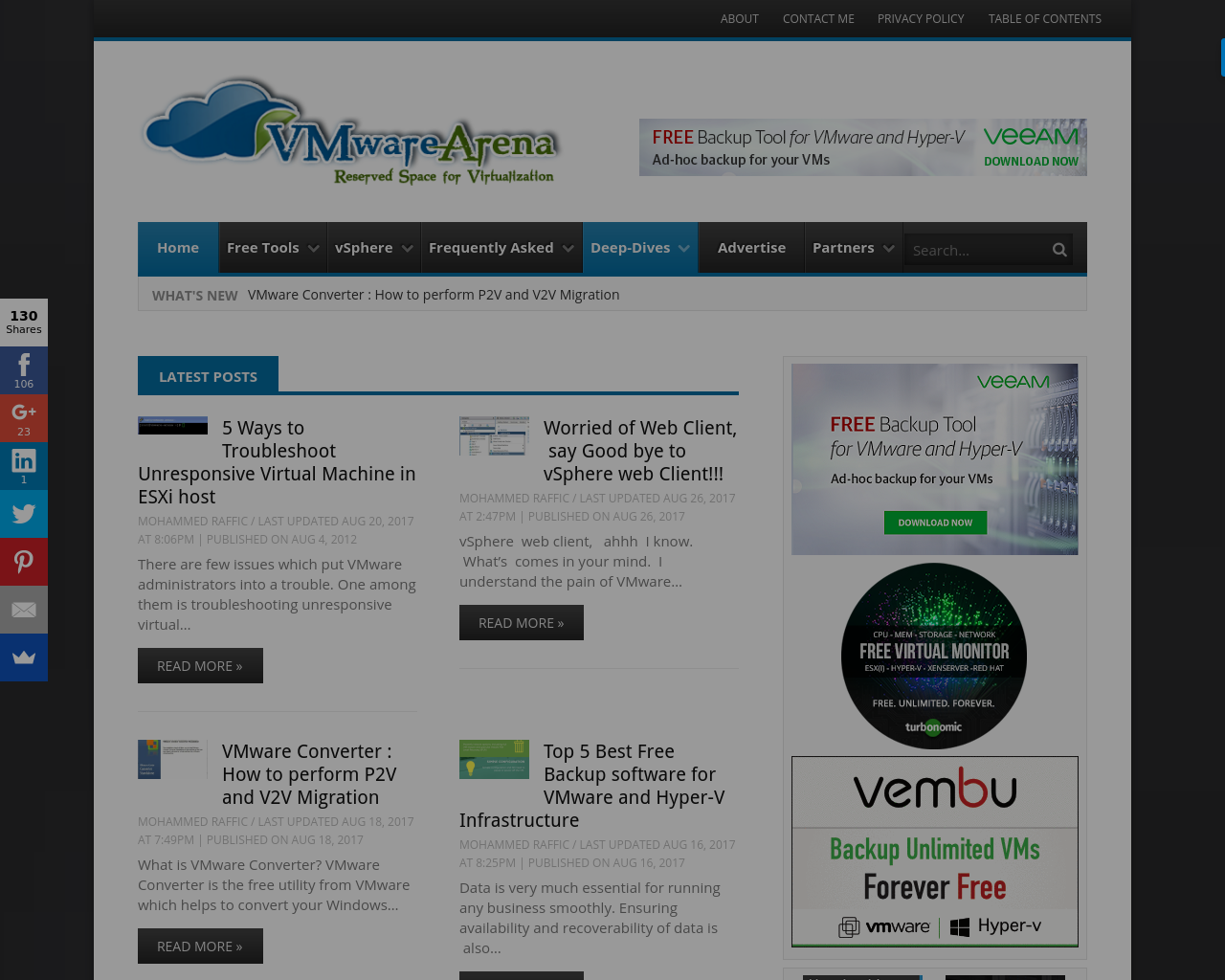 VMware-Arena-Advertising-Reviews-Pricing