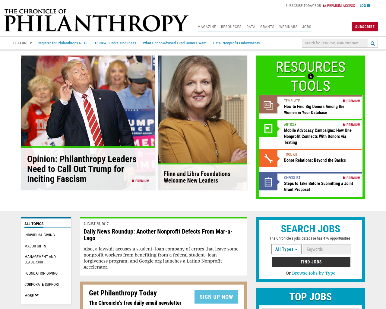The-Chronicle-Philanthropy-Advertising-Reviews-Pricing