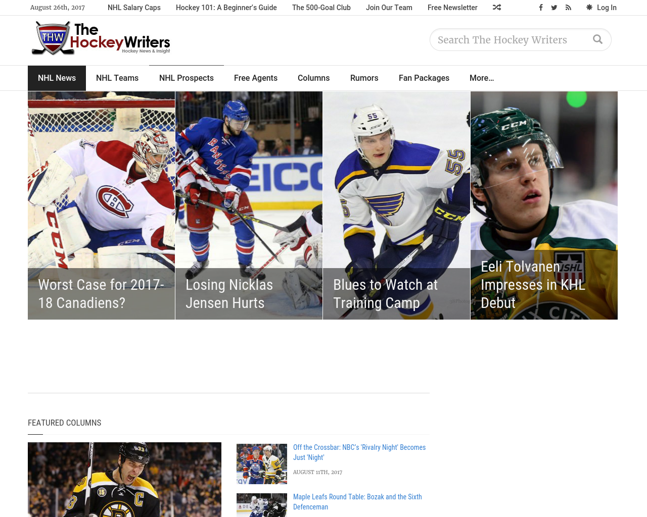 The-Hockey-Writers-Advertising-Reviews-Pricing