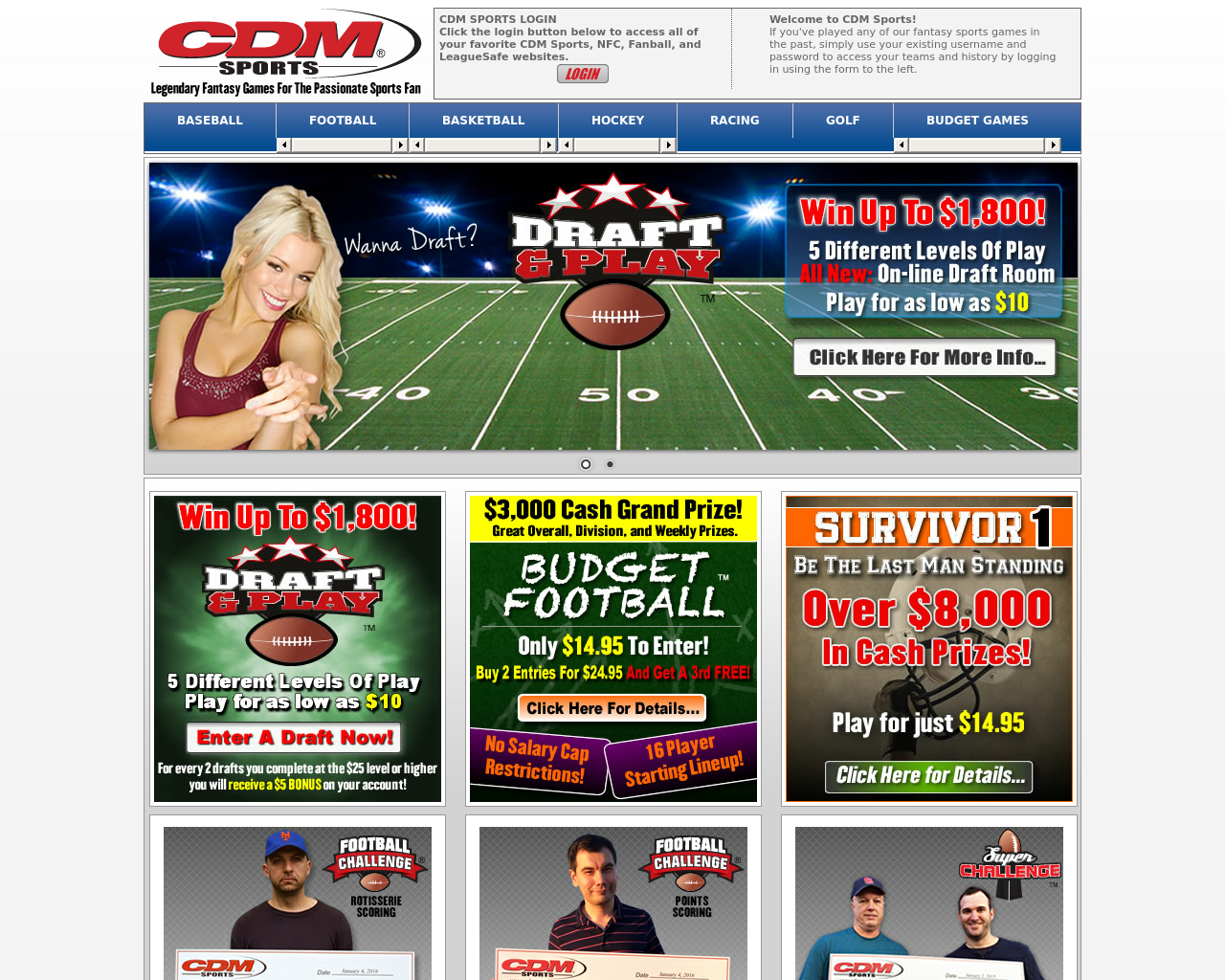 Cdm Sports Advertising Mediakits Reviews Pricing Traffic Rate