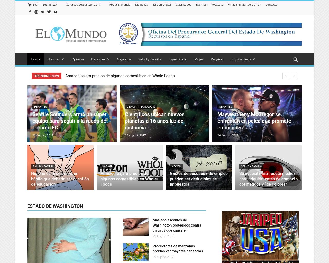 El-Mundo-Noticias-Locales-e-Internacionales-Advertising-Reviews-Pricing