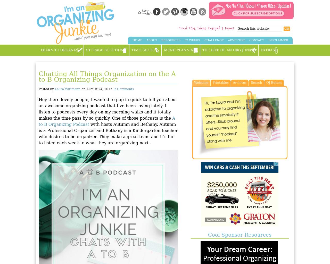 Organizing-Junkie-Advertising-Reviews-Pricing