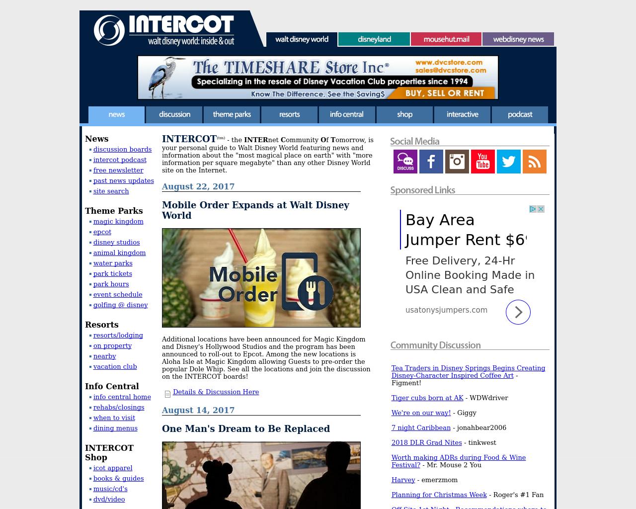 INTERCOT:-Walt-Disney-World-Advertising-Reviews-Pricing