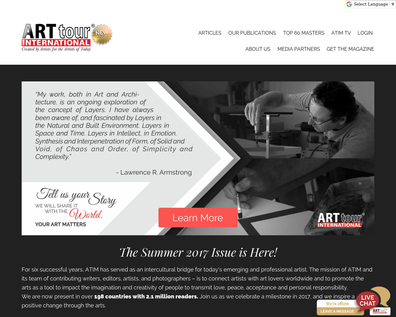 ArtTour-INTERNATIONAL-Advertising-Reviews-Pricing