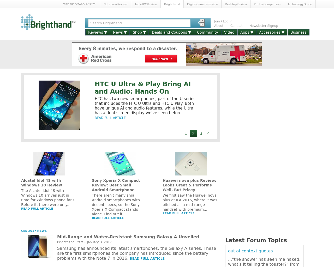 BrightHand-(SmartPhone-News-And-Reviews)-Advertising-Reviews-Pricing