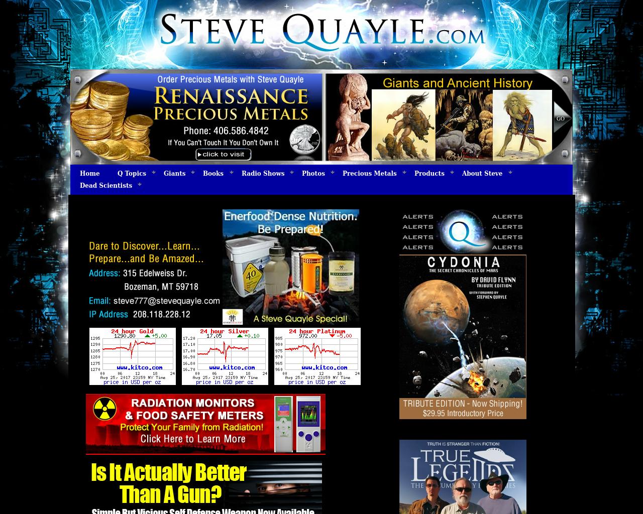 Steve-Quayle.com-Advertising-Reviews-Pricing