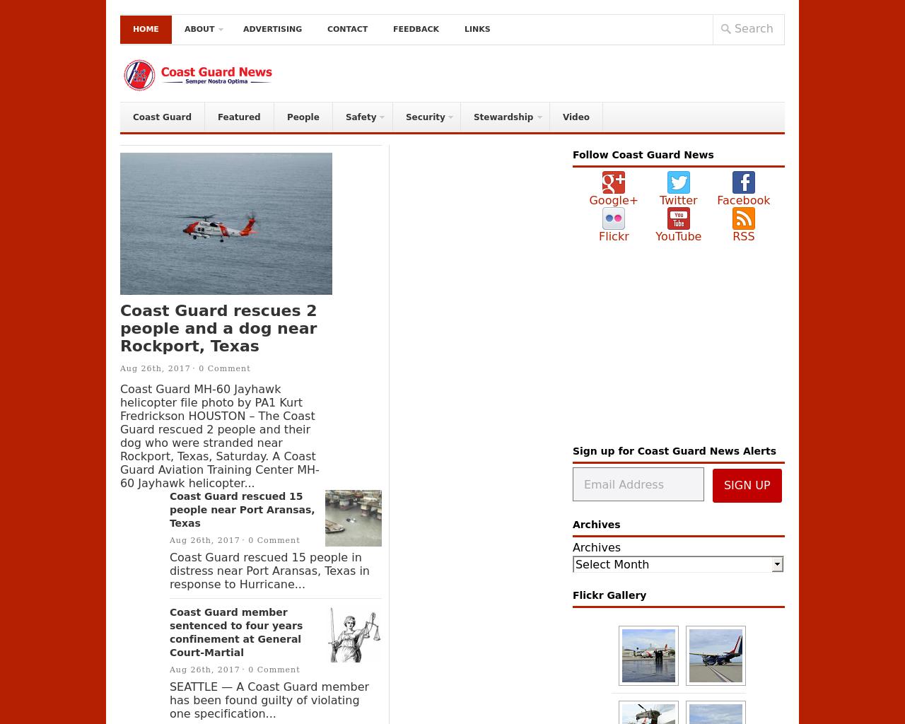 Coast-Guard-News-Advertising-Reviews-Pricing