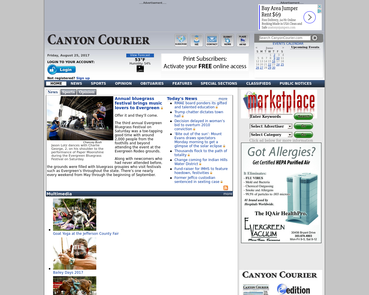 Canyon-Courier-Advertising-Reviews-Pricing