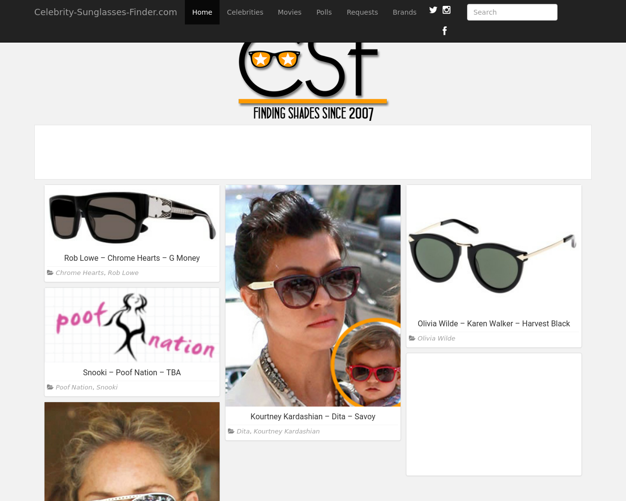 Celebrity-Sunglasses-Finder-Advertising-Reviews-Pricing