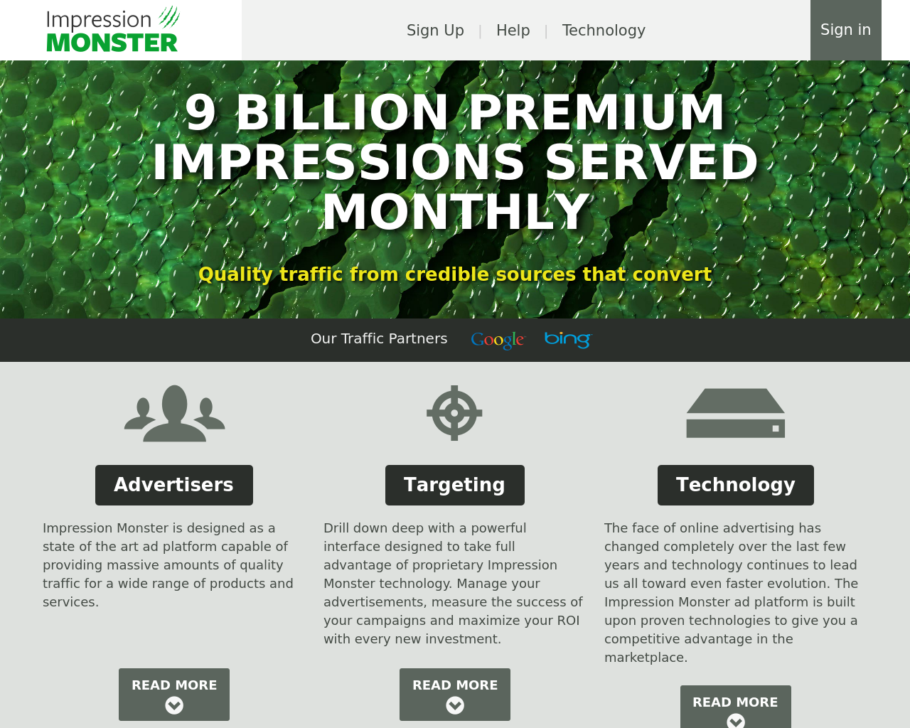 Impression-MONSTER-Advertising-Reviews-Pricing