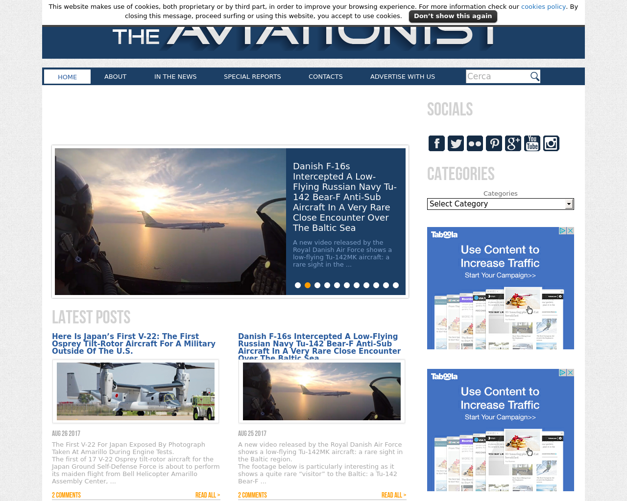 The-Aviationist-Advertising-Reviews-Pricing