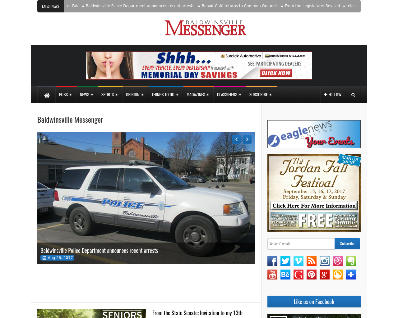 Baldwinsville-Messenger-Advertising-Reviews-Pricing