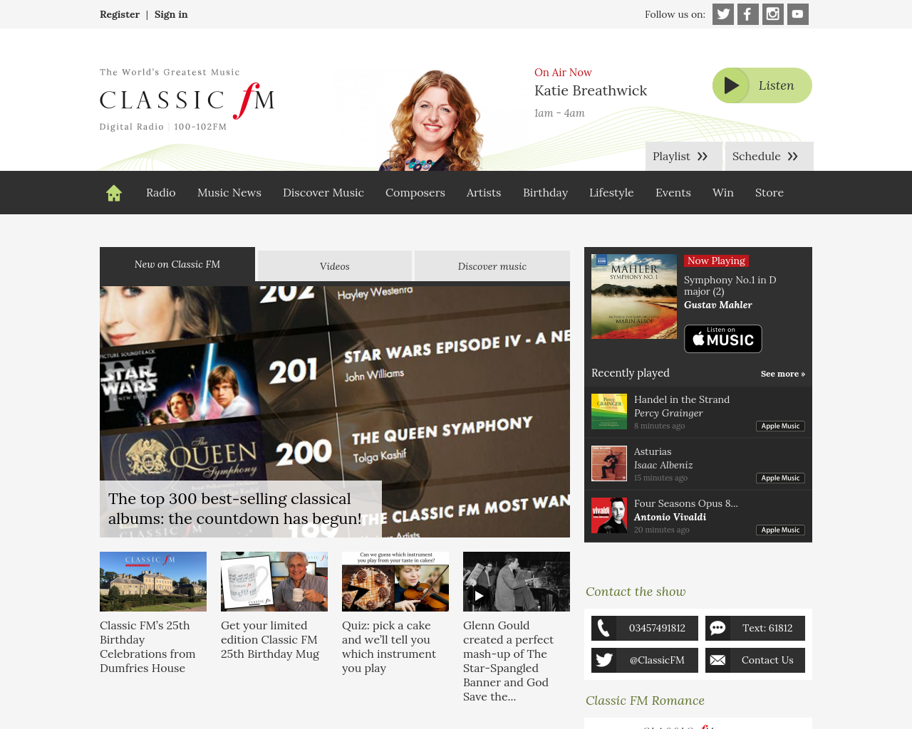 Classicfm.com-Advertising-Reviews-Pricing