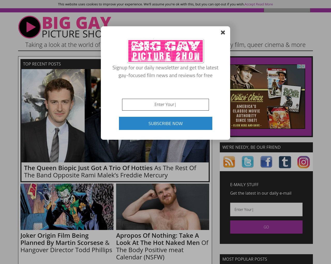 Big-Gay-Picture-Show-Advertising-Reviews-Pricing
