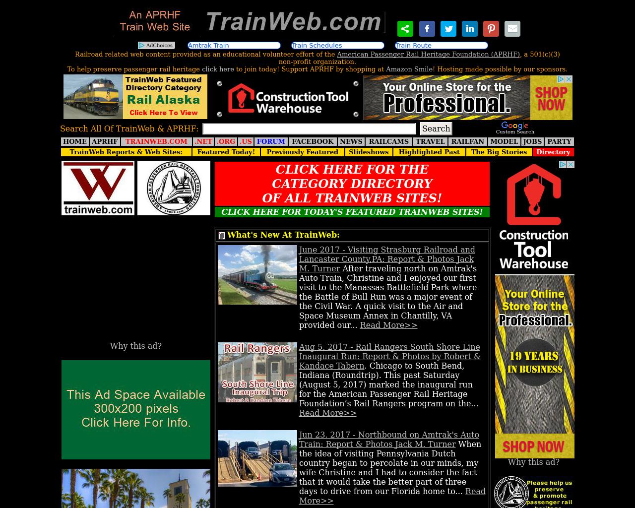 TrainWeb-Advertising-Reviews-Pricing