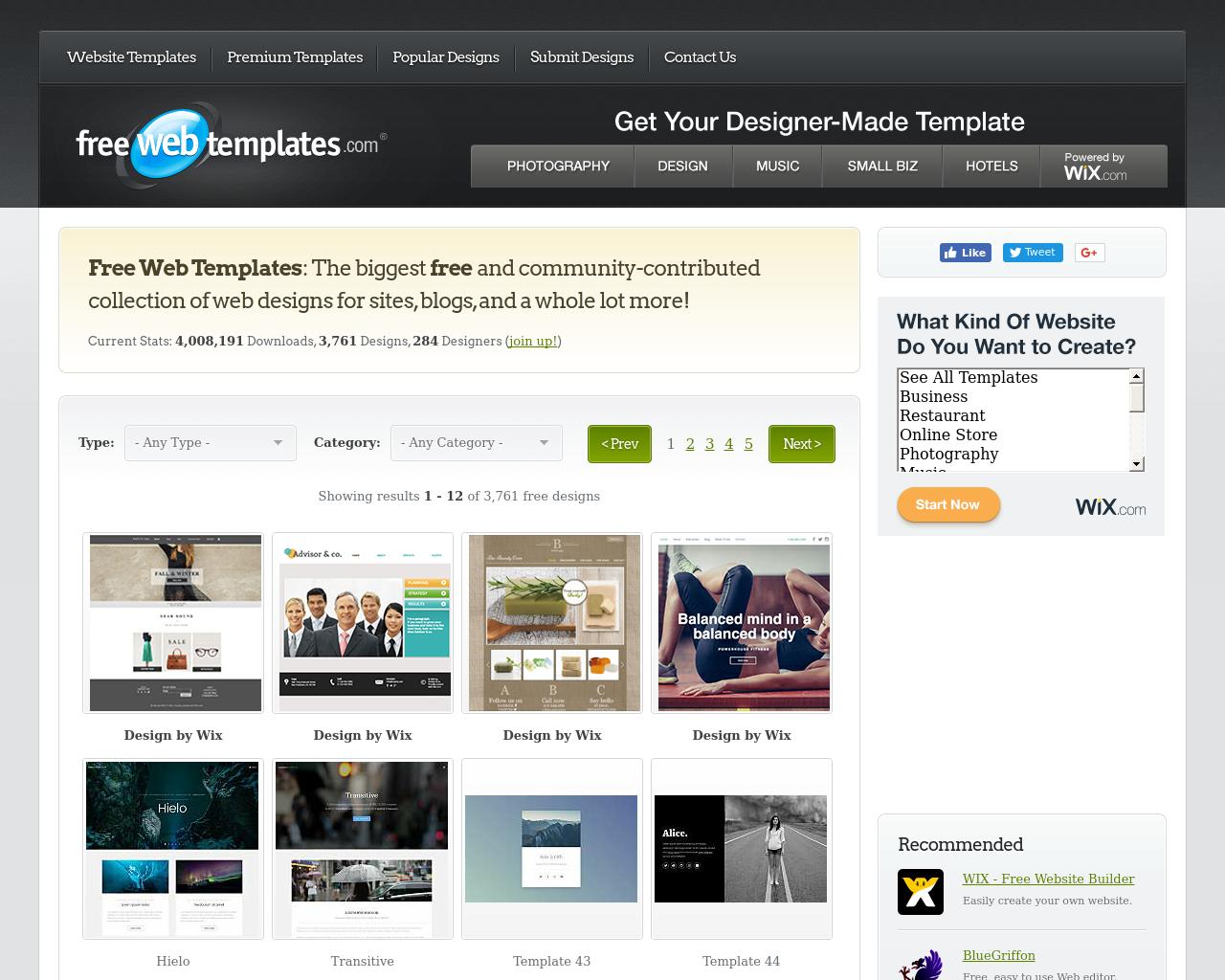 FreeWebTemplates.com-Advertising-Reviews-Pricing