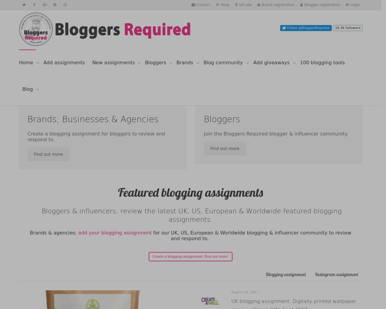 Bloggers-Required-Advertising-Reviews-Pricing