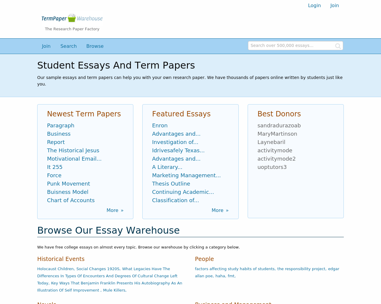 Term-Paper-Warehouse-Advertising-Reviews-Pricing