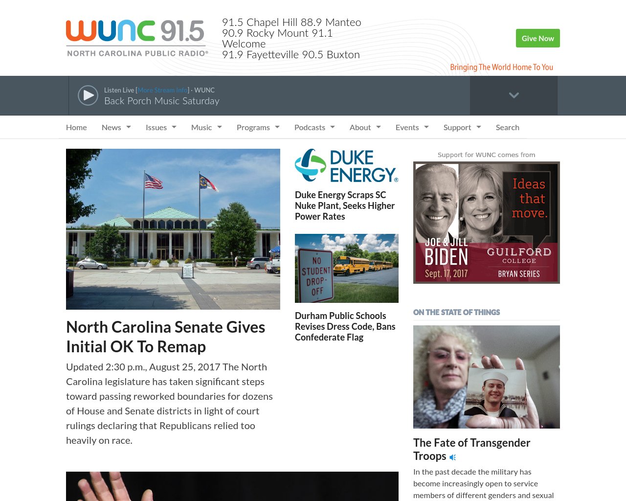 WUNC-91.5-Advertising-Reviews-Pricing