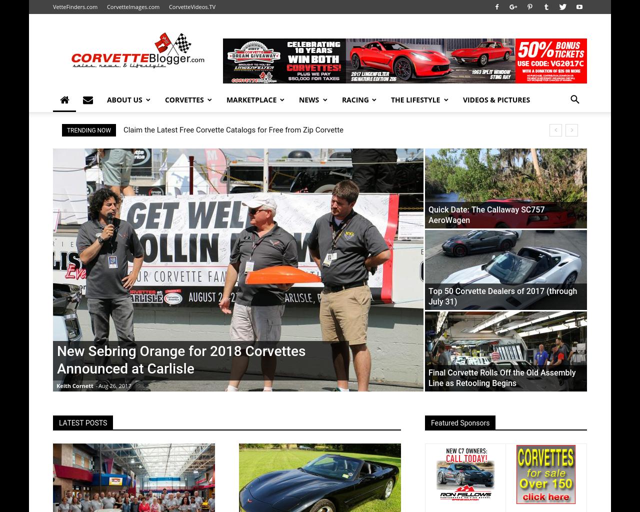 CorvetteBlogger-Advertising-Reviews-Pricing