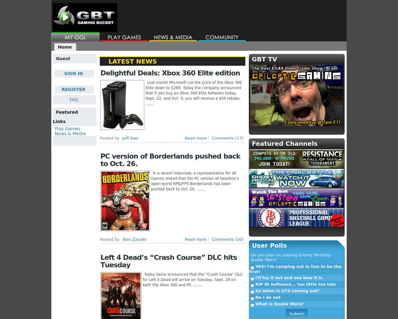 gamingbucket.com-Advertising-Reviews-Pricing