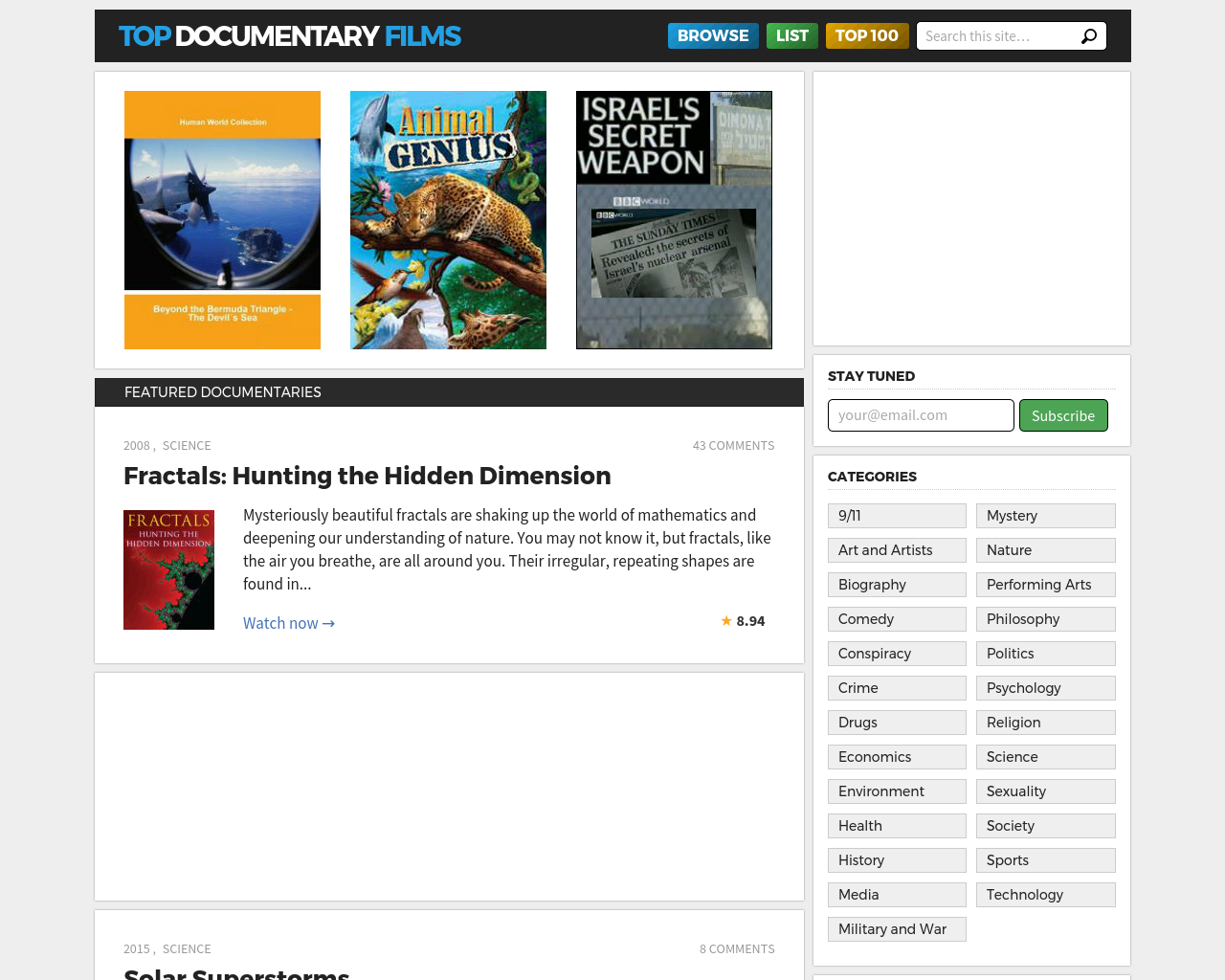 Top-Documentary-Films-Advertising-Reviews-Pricing