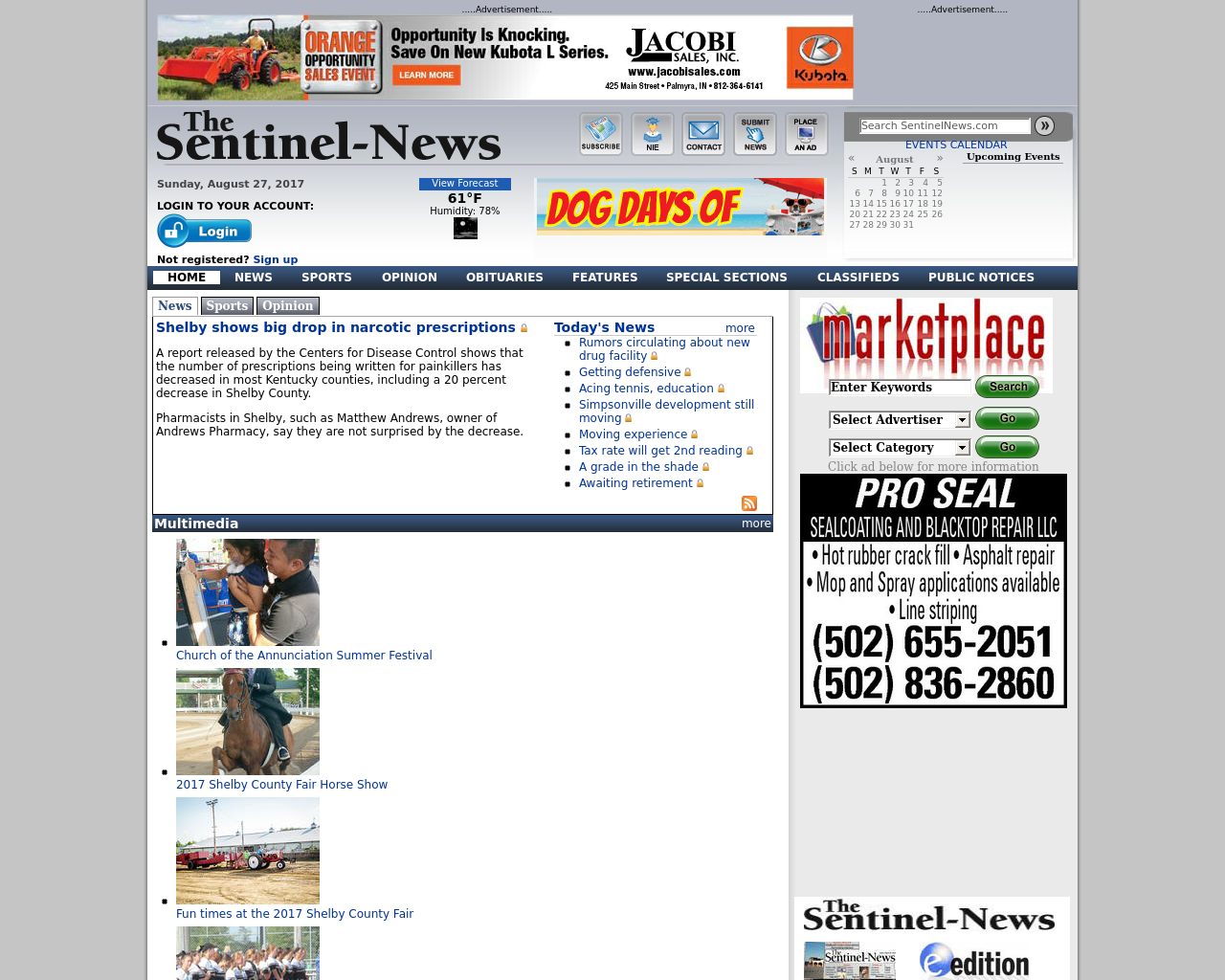 SentinelNews.com-Advertising-Reviews-Pricing