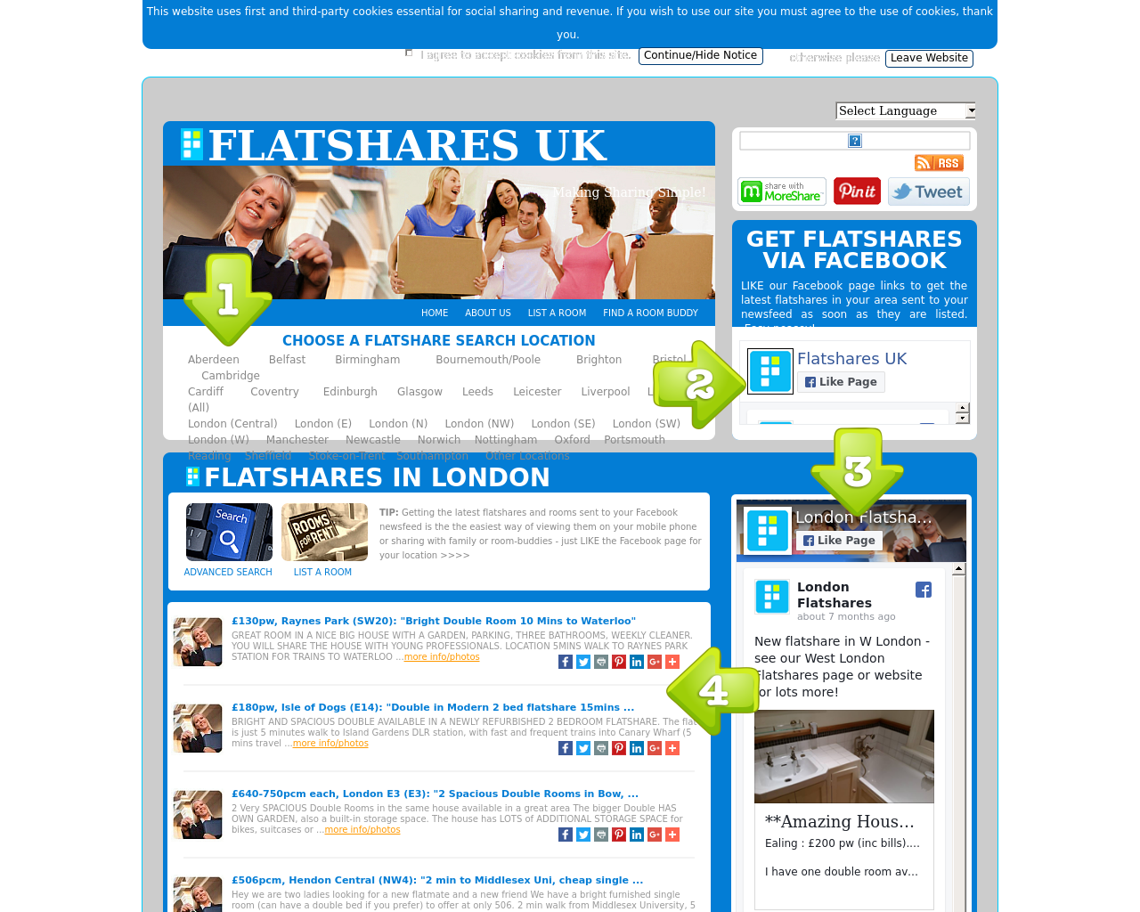 FLATSHARES-UK-Advertising-Reviews-Pricing